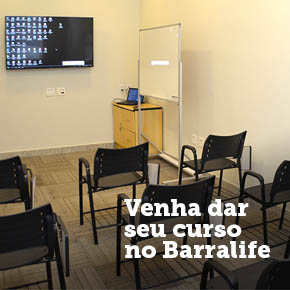 Venha fazer seu evento no Barralife